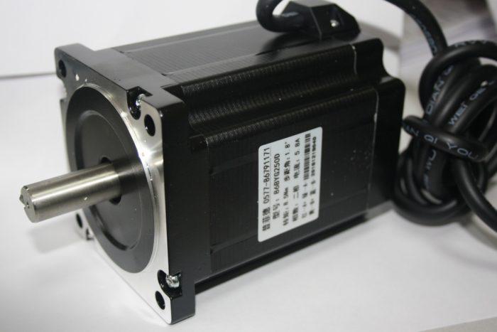 Фото 1 - Шаговый двигатель 86BYG250D 8,5Нм.