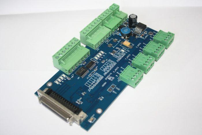 Фото 3 - DSP контроллер на 3 оси SQNC-0501HDDC.