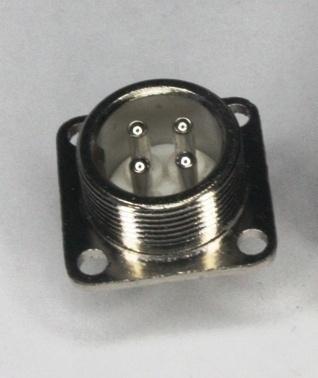 Фото 2 - Разъем 4 pin H17-4  к шпинделю.