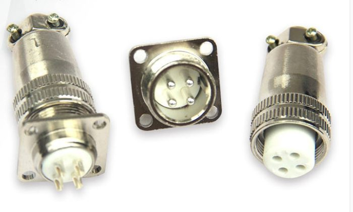 Фото 4 - Разъем 4 pin H17-4  к шпинделю.