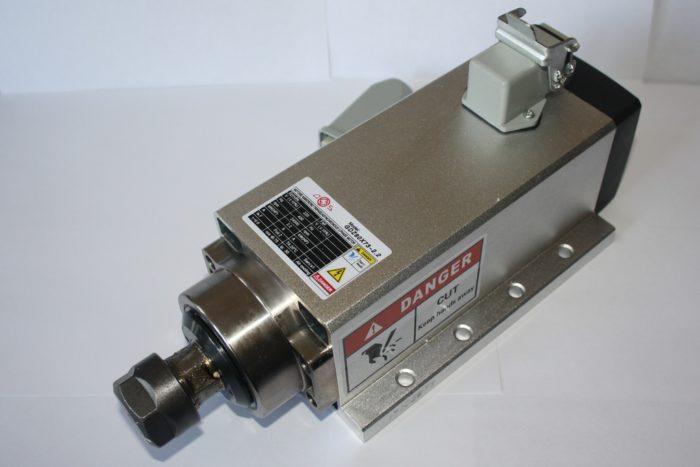 Фото 1 - Шпиндель GDZ 80X73-2.2 с воздушный охлаждением 2.2 кВт ER20.