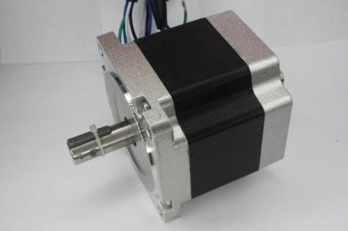 Фото 15 - Шаговый двигатель 86HBS80AL4 вал на 2 стороны 4Нм.