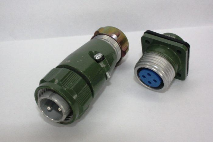 Фото 2 - Разъем 4 pin YD20-4 к шпинделю.