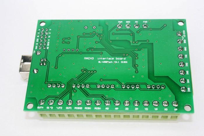 Фото 2 - Интерфейсная плата BL-USB MACH-V3.1 на 5 осей (200 КГц).