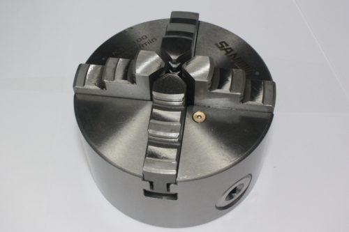 Фото 3 - Патрон токарный К12-100 4-х кулачковый.