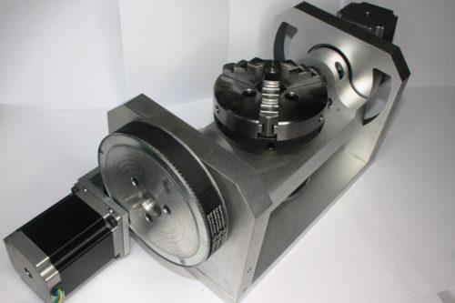 Фото 10 - Поворотная ось ЧПУ с ременной передачи (4-я, 5-я оси).
