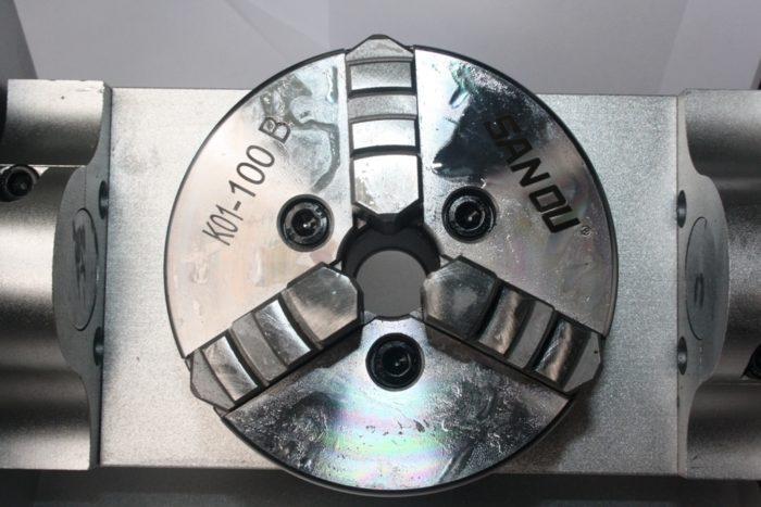 Фото 4 - Поворотная ось ЧПУ с ременной передачи (4-я, 5-я оси).