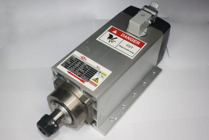 Фото 1 - Шпиндель GDZ 104x102 с воздушный охлаждением 3.5 кВт ER20 (380V).
