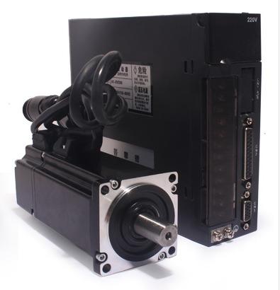 Фото 1 - Комплект сервомотор 60ST-M01930 600W, серводрайвер A1-SVD15.