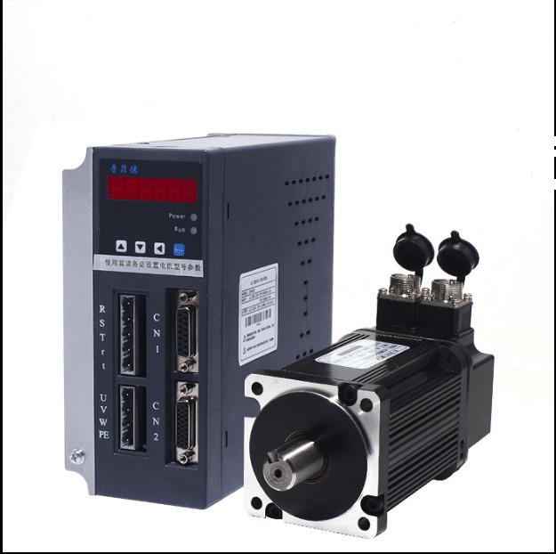 Фото 1 - Комплект сервомотор ACSM080-G0330LZ 1000W, серводрайвер H3N-DD.