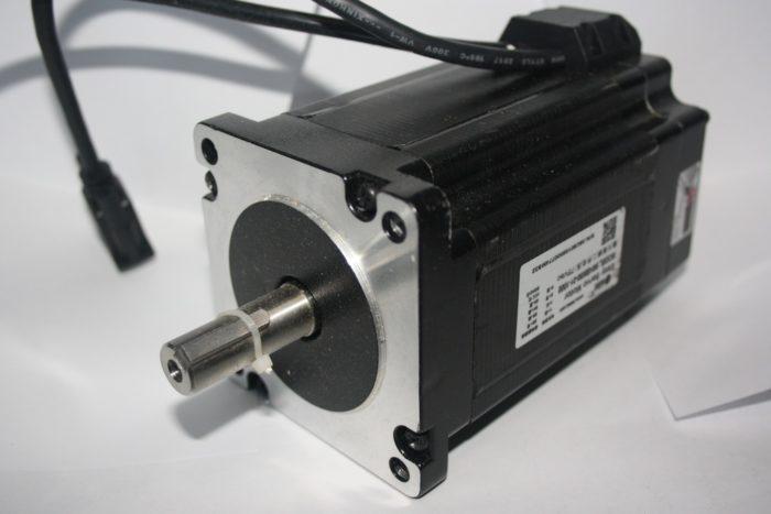 Фото 1 - Шаговый двигатель 86HSM80-E1 с энкодером 8Нм (Оригинал Leadshine).