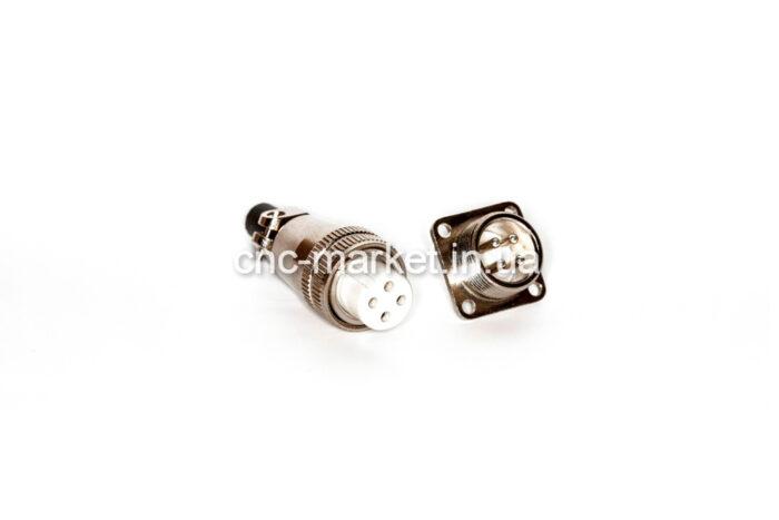Фото 1 - Разъем 4 pin H17-4  к шпинделю.