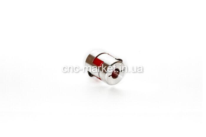 Фото 1 - Гибкая кулачковая муфта 6.35*8 D20.