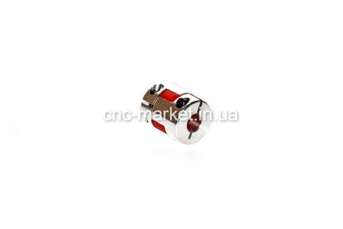 Фото 1 - Гибкая кулачковая муфта 6.35*12 D25.