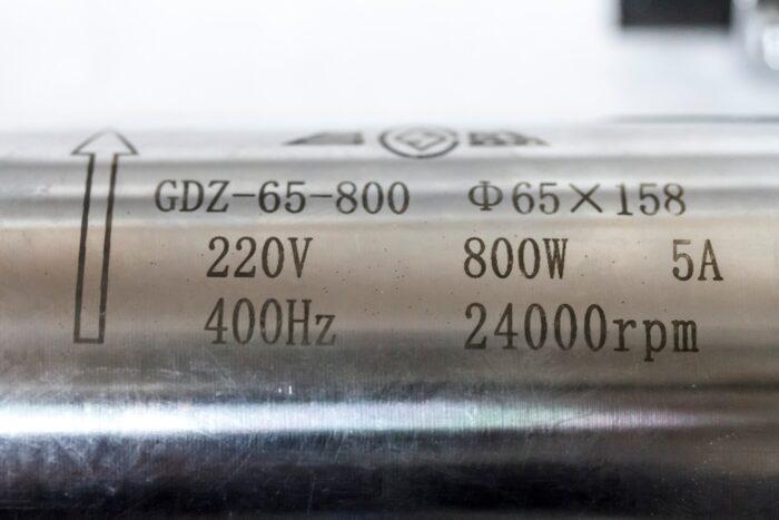 Фото 2 - Шпиндель GDZ-65-800A с водяным охлаждением 0.8 кВт.