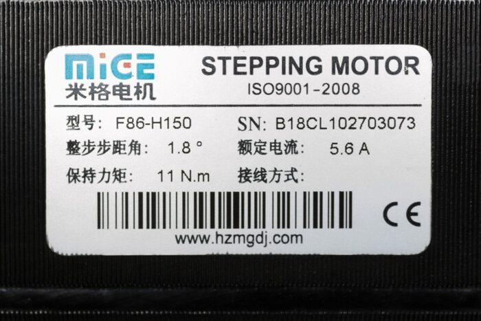 Фото 2 - Шаговый двигатель MIGE F86-H150 11Нм.
