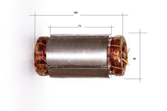 Фото 2 - Статор к шпинделю 2.2 кВт.