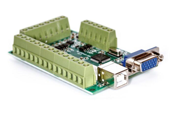 Фото 3 - Интерфейсная плата BL-USB MACH-V3.1 на 5 осей (200 КГц).