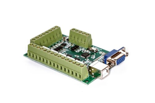 Фото 3 - Интерфейсная плата BL-USB MACH-V3.1 на 5 осей (100 КГц).