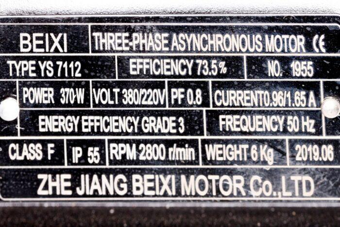 Фото 2 - Шпиндель ременной ER20 с мотором 370W 2800 об/мин..