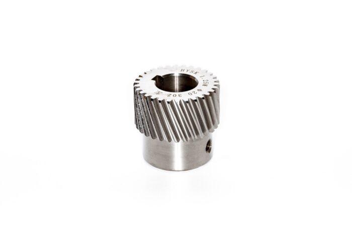 Фото 1 - Зубчатые колеса (модуль 1.25) косой зуб M1.25-Z30-20 (шпонка 5).