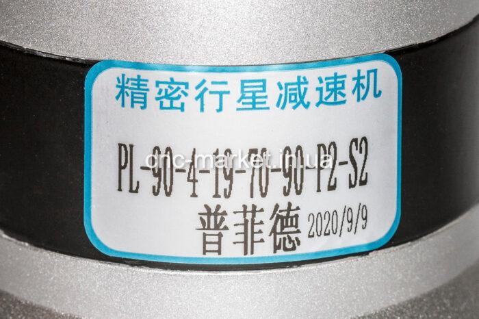 Фото 2 - Планетарный редуктор PL90 (1:4, 1:10) для серводвигателей.