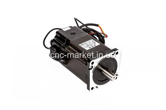 Фото 1 - Шаговый двигатель 86BYG250D-S 8,5Нм с электротормозом.