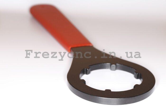 Фото 1 - Ключ под гайку ER32 тип UM (кольцевой).