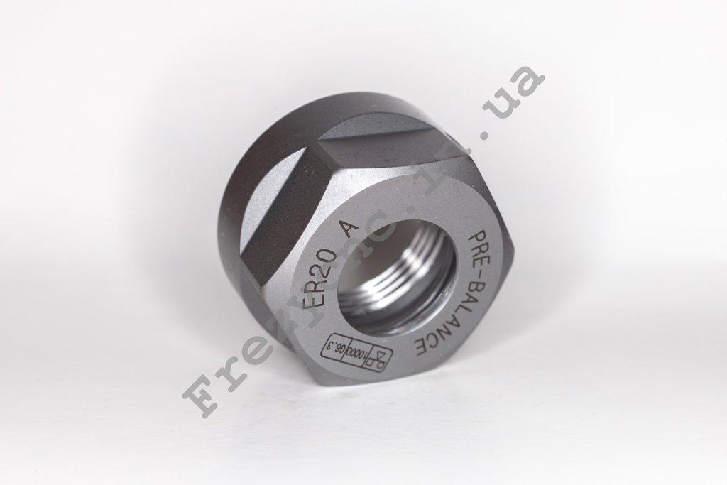 Гайка ER20 Тип А (отбалансирована <0.005 )