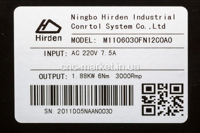 Фото 3 - Комплект сервомотор M1106030FN12COAO 1880W, серводрайвер A3N-TD.