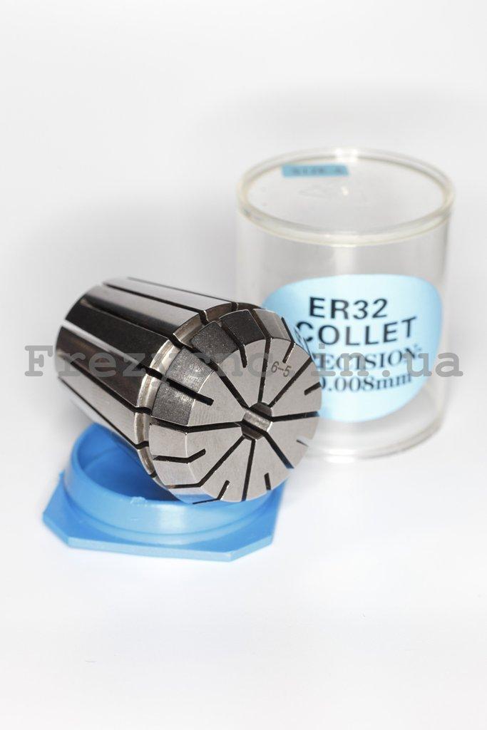 Фото 2 - Цанга ER32 5-6 мм (P≤0.008 мм).