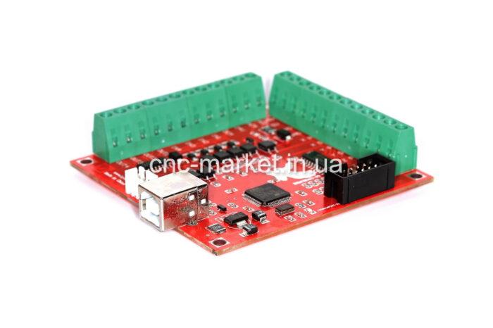 Фото 1 - Интерфейсная плата BSMCE04U-USB MACH-3 на 4 оси (100 КГц).