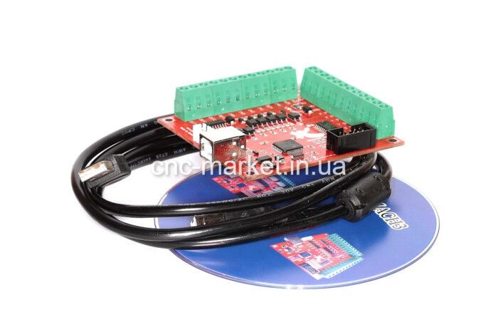 Фото 2 - Интерфейсная плата BSMCE04U-USB MACH-3 на 4 оси (100 КГц).
