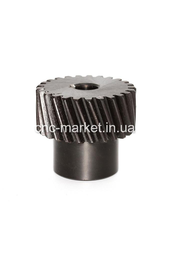 Фото 2 - Зубчатые колеса (модуль 2) косой зуб M2-Z25-14 (шпонка 5).